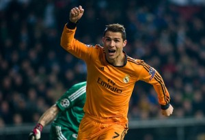 Real Madrid beats FC Copenhagen 2-0 during UEFA Champions League match