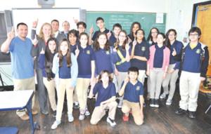 Oliver Street School students