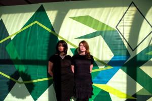 Rebecca Jampol and Jasmine Wahi