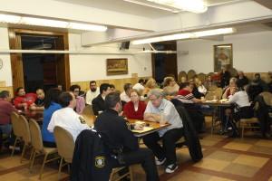 foto de arquivo reunião comunitária