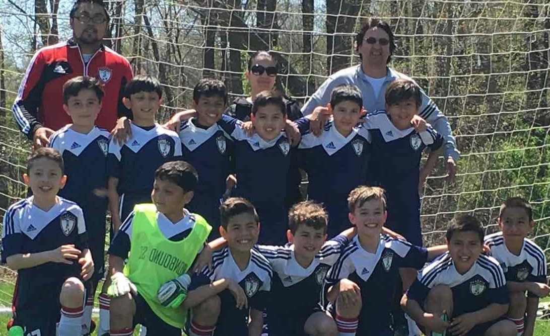 Os Jaguars (sub-9) do Ironbound SC