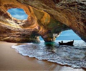 gruta de Benagil, Algarve