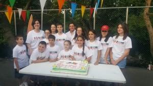 Alunos da Escola Portuguesa de Lodi