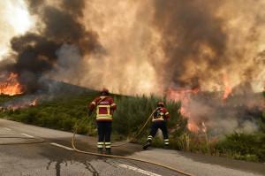 Incêndio em S. Pedro do Sul