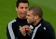 Cristiano Ronaldo e Pepe