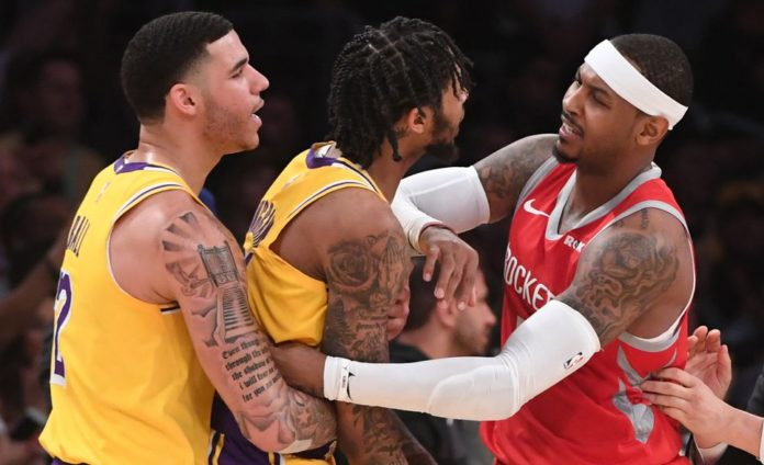 Los Angeles Lakers Vs. Houston Rockets