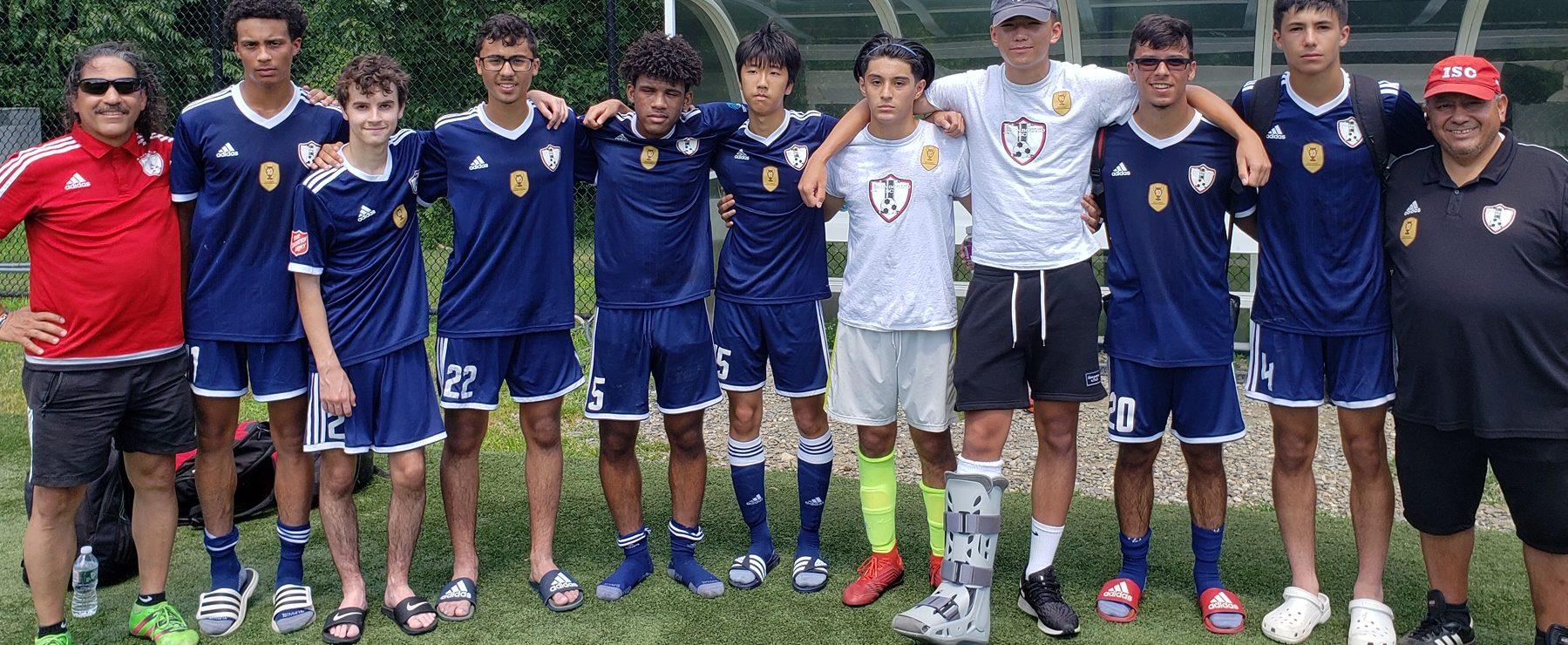 Os Internationals (sub-16) do Ironbound SC