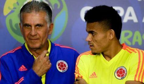 Luis Díaz, Carlos Queiroz