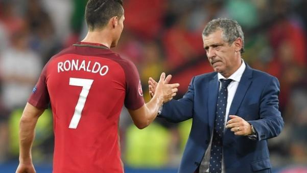 Ronaldo, Fernando Santos