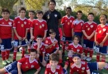 Os Revolution (sub-11) do Ironbound SC