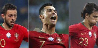 João Félix, Ronaldo, Bernardo Silva