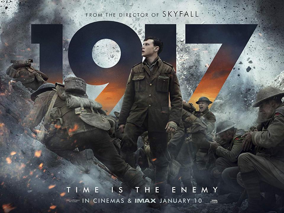O cartaz de '1917', com o qual Sam Mendes concorre a 10 nomeações