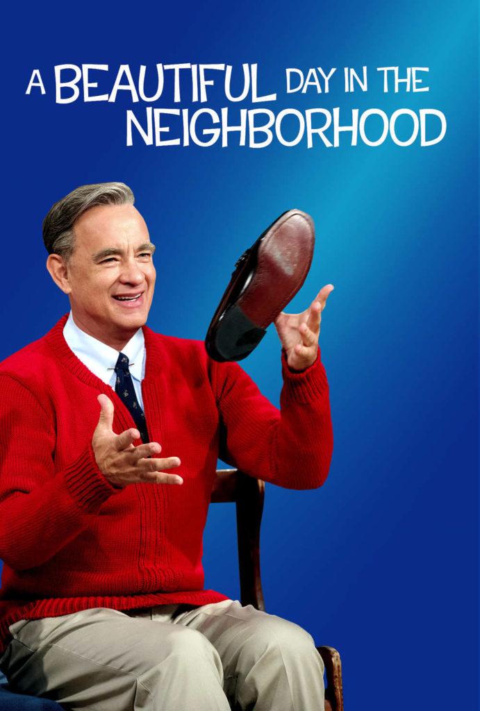 O cartaz de 'A Beautiful Day in the Neighborhood', com o luso-americano Tom Hanks